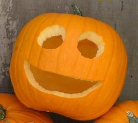 かぼちゃのランタン完成