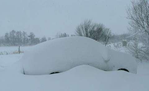 さらにもう一晩放置しよう♪雪山だ♪