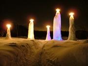 氷柱「氷の精霊」