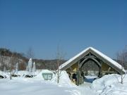 冬のゲートハウスと野外会場
