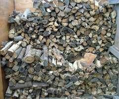 薪小屋の内部です