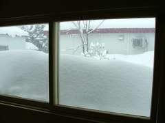 廊下の窓です