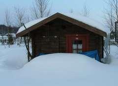雪に閉ざされたロズビィ
