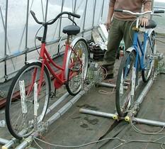 自転車!?