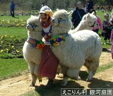 春のパレードの様子